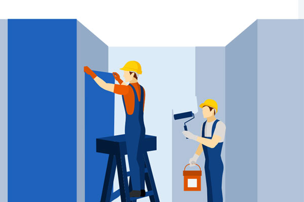 indoor air quality testing for paint and building