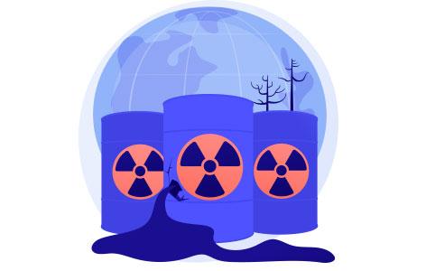 Radio Active pollutants
