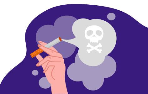 Secondhand smoke air quality test