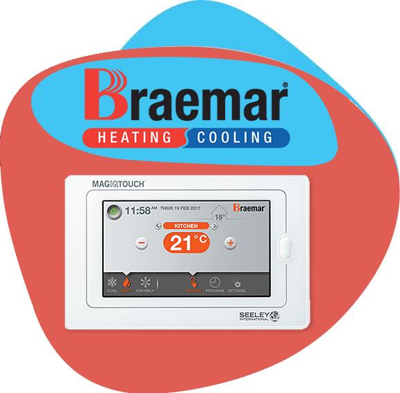 braemar ducted heating